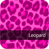 Cute! Pink Leopard WallPaper