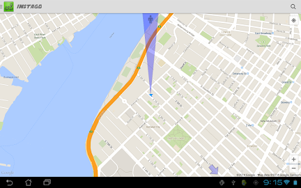 Instago Street View Navigation Screenshot 11