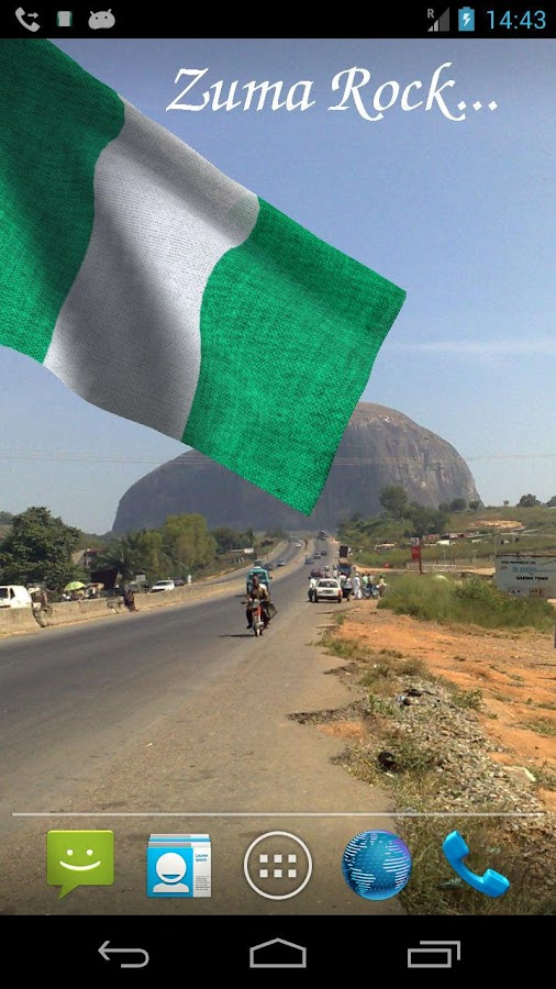 3d nigeria flag live wallpaper android apps on google play for Home wallpaper nigeria