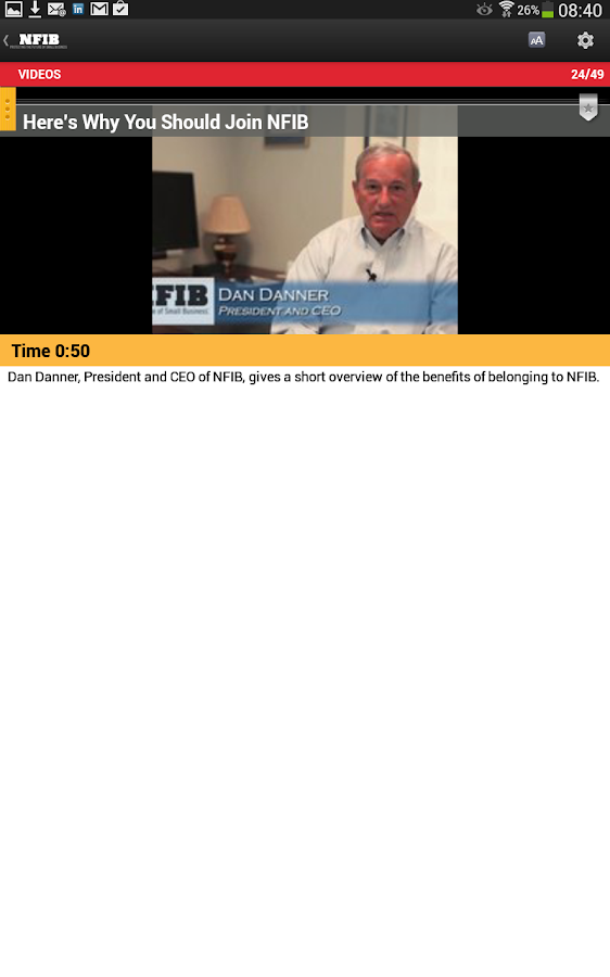 SmallBiz Today - screenshot