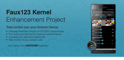 » Faux123 Kernel Enhancement Pro 0.9.87 for Android