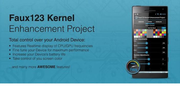 Faux123 Kernel Enhancement Pro