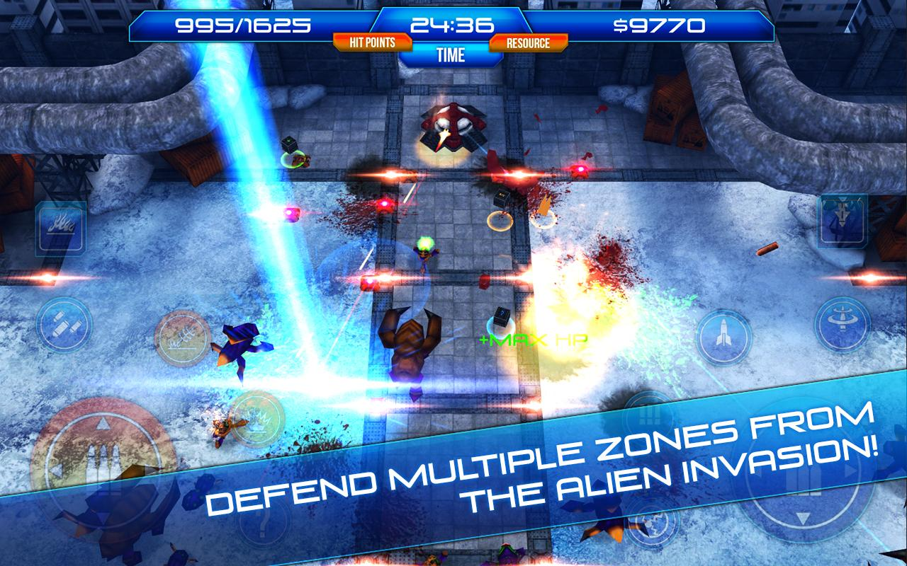 Aftershock Free - screenshot