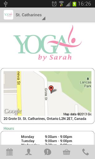 【免費健康App】Yoga By Sarah-APP點子