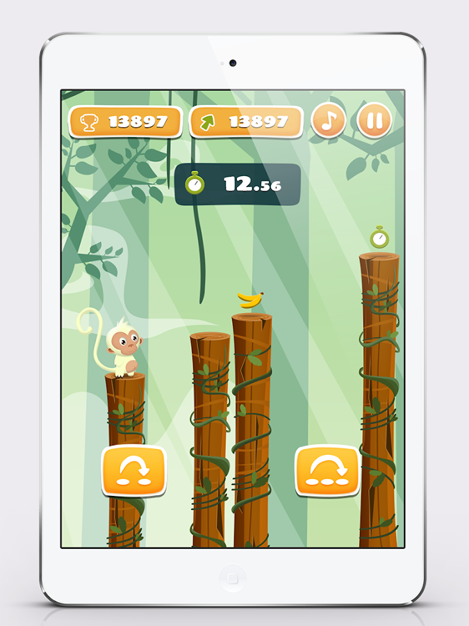 Monkey Climbing- screenshot