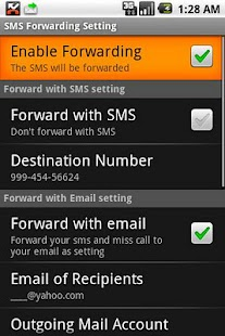SMS Forwarding - screenshot thumbnail