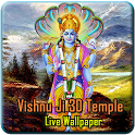 Lord Vishnu 3D Temple LWP icon