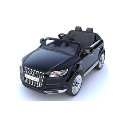 acheter audi q7 voiture lectrique enfant noir 12 volts. Black Bedroom Furniture Sets. Home Design Ideas