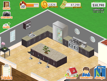 Android game hacks design this home v1 mod apk Build your dream house app