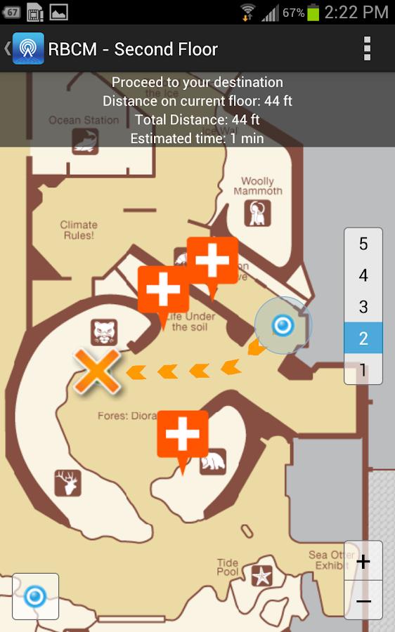 Wifarer Indoor Navigator - screenshot