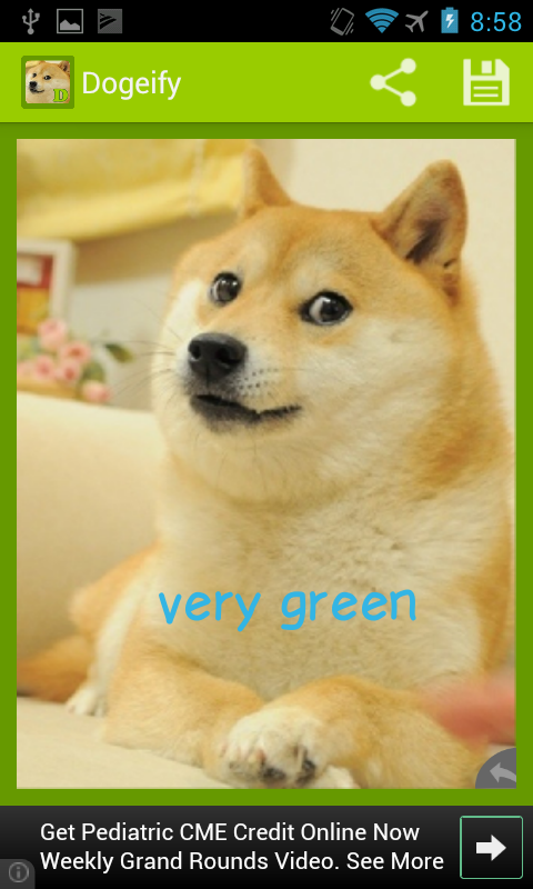 Dogeify- Custom Doge GREEN - screenshot