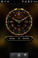 Screenshot of SEROYS Luxury Clock Widget