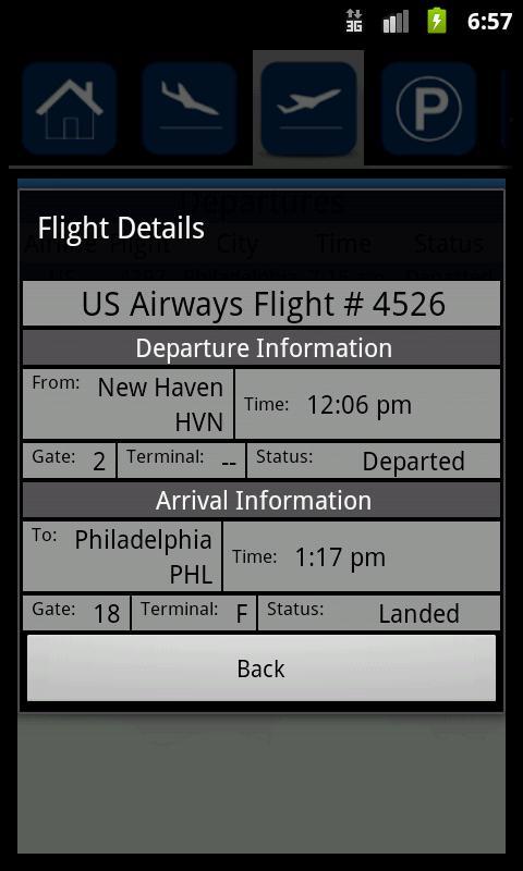 Tweed New Haven Airport- screenshot