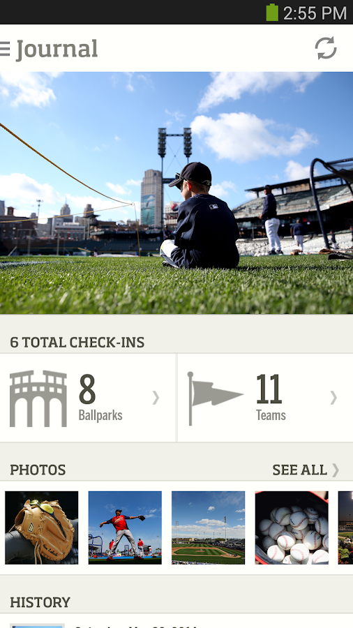 MLB.com At the Ballpark - screenshot