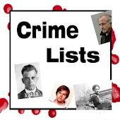 Crime Lists