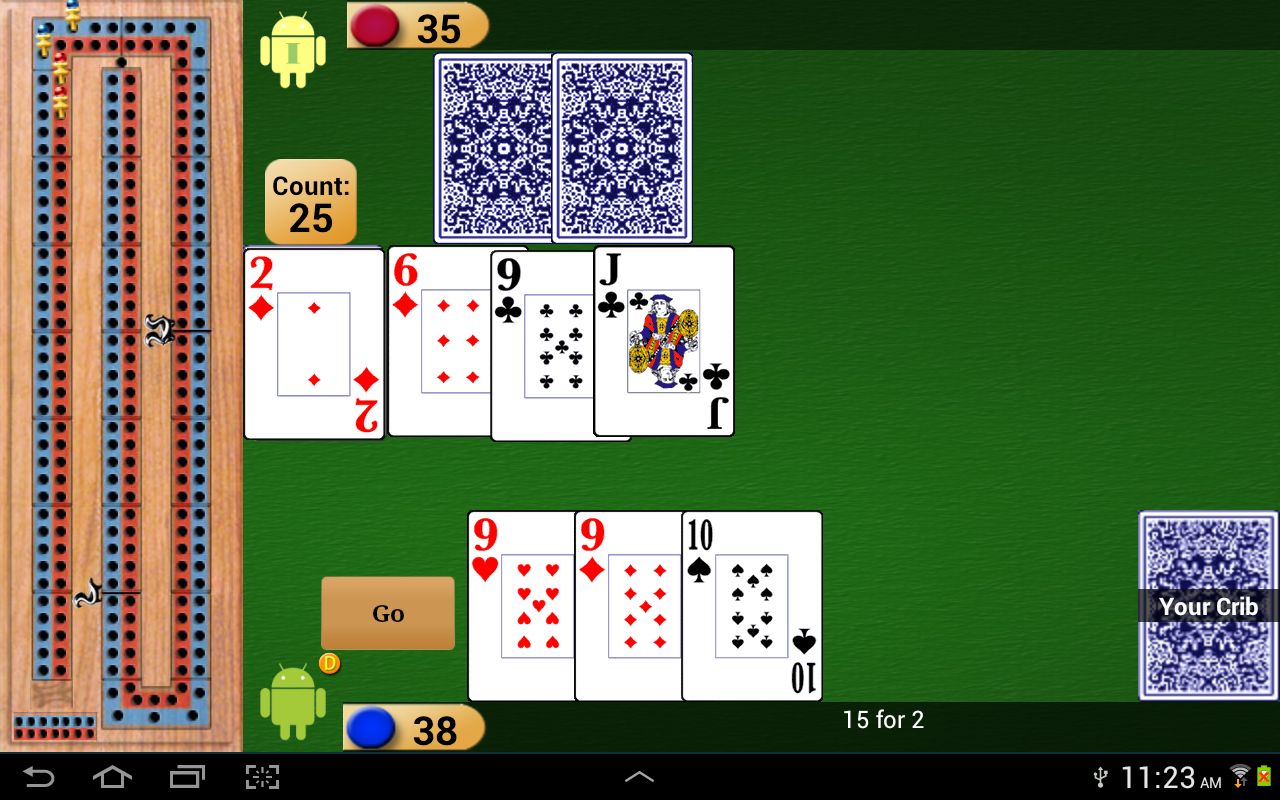 Cribbage Pro- screenshot