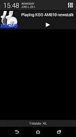 Screenshot of RADIO Lite