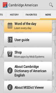 Cambridge American English - screenshot thumbnail