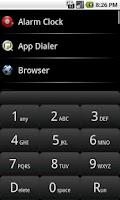 Screenshot of App Dialer