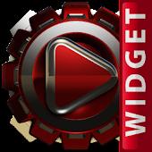 Poweramp Widget Red Magnet