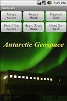 Screenshot of Geospace