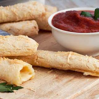 Gluten Free Cheese Stuffed Breadsticks.