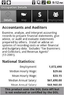 Labor Wage Statistics - screenshot thumbnail