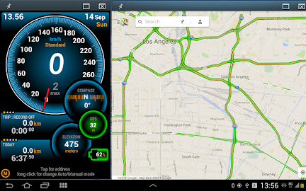Ulysse Speedometer Screenshot 9