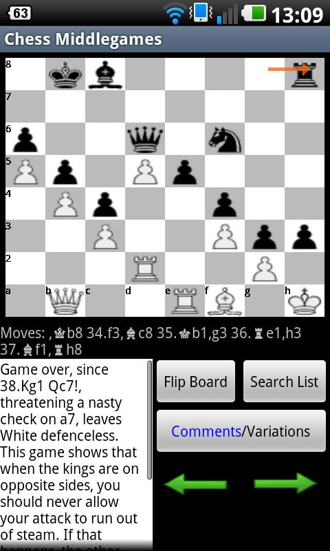 Chess Middlegames- screenshot