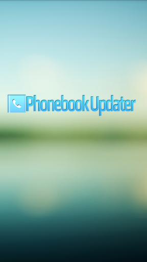 PhonebookUpdater