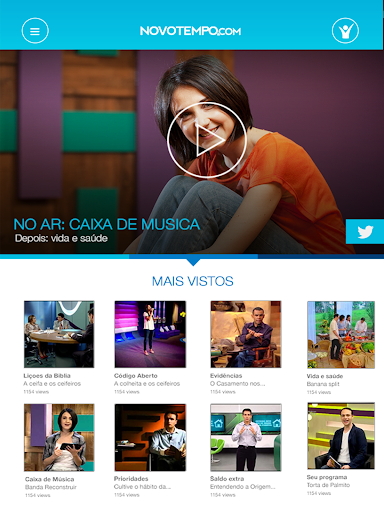 TV Novo Tempo 1.0 screenshots 7