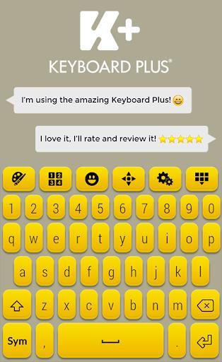 字体键盘主题