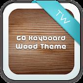 GO Keyboard Wood Theme