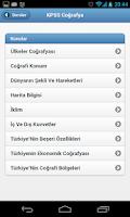 Screenshot of KPSS Ders Notları