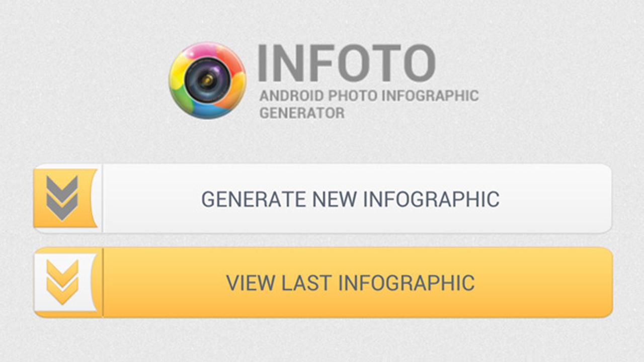 Photo Infographic Generator - screenshot