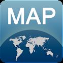 Barcelona Map offline icon