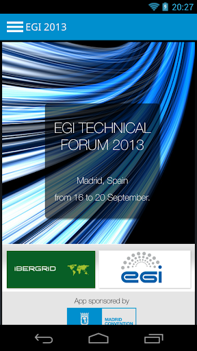 EGI Technical Forum 2013