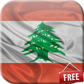 Flag of Lebanon Live Wallpaper