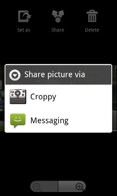 Croppy - screenshot
