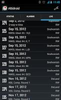 Screenshot of Altidroid
