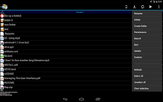 Screenshot of AndFTP (your FTP client)