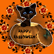 Pumpkins Cat Live wallpaper