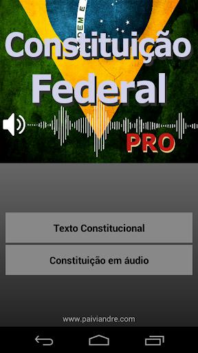 Constituição Federal Áudio PRO