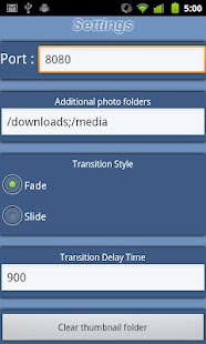 Photo Share Web Server- screenshot thumbnail