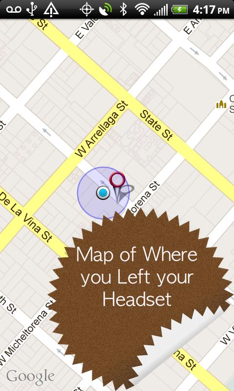 Headset TrackR - Locate & Find - screenshot