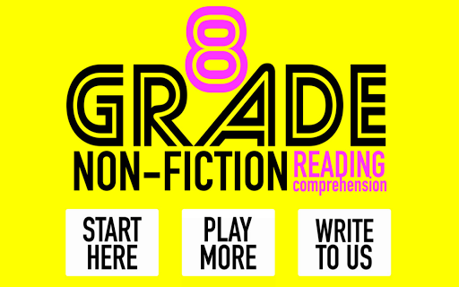 8th Grade Non-Fiction Reading