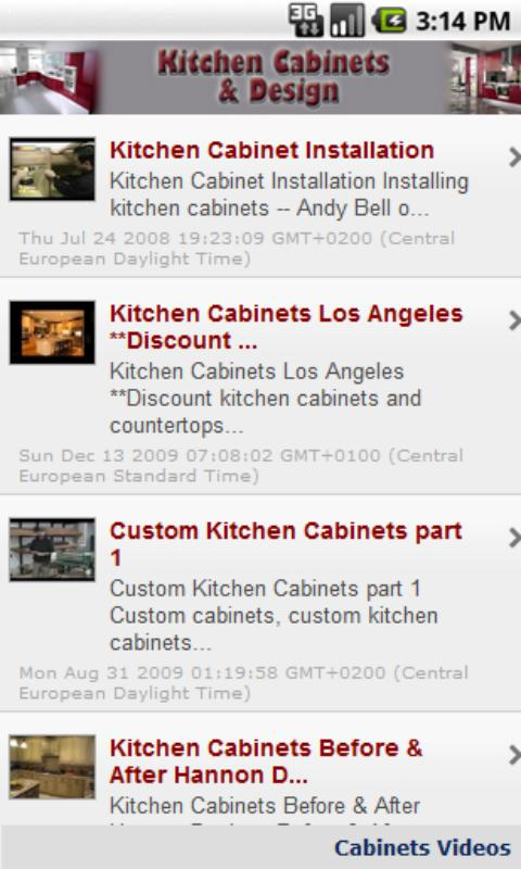 kitchen cabinets & design - android apps on google play
