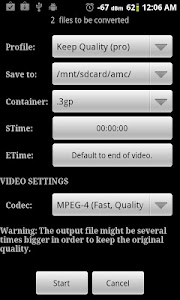 Video Converter Android v1.5.6
