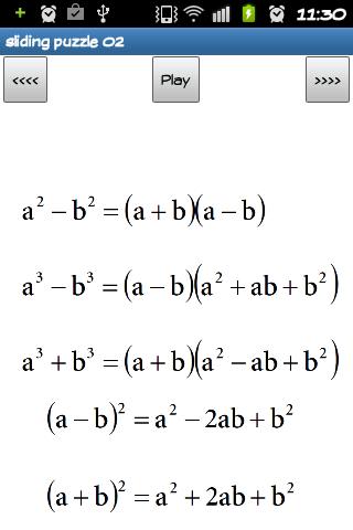 【免費解謎App】Sliding Puzzle 02 - Math 01-APP點子