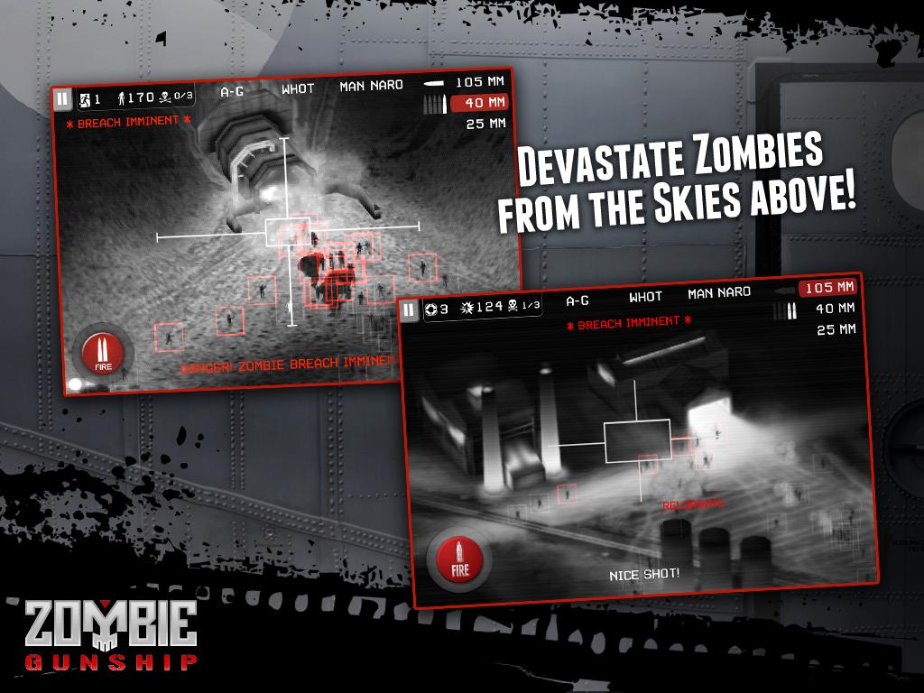 Zombie Gunship screenshot #14